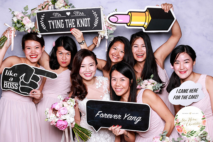 instant photo booth rental Singapore